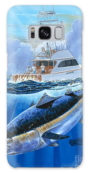 Giant Bluefin Off00130 Galaxy Case by Carey Chen