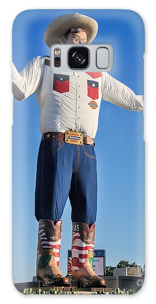 Giant Cowboy Big Tex State Fair Of Texas Galaxy Case