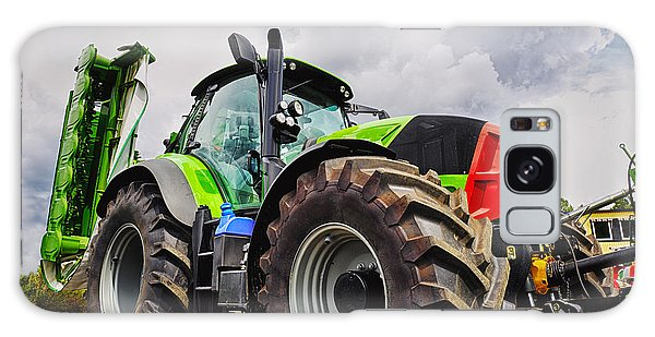 Giant Farming Tractor Latest Model Galaxy Case by Christian Lagereek