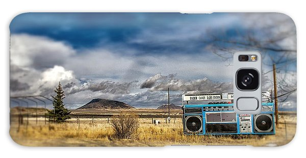 Giant Idaho Radio Tilt Shift Galaxy Case by For Ninety One Days
