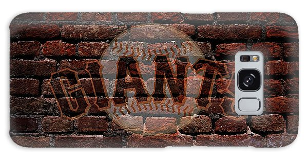 Giants Baseball Graffiti On Brick  Galaxy Case