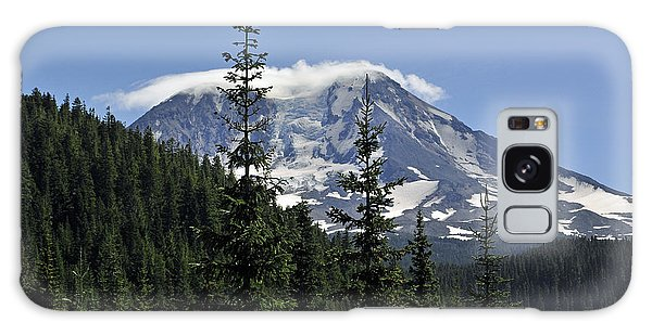 Gifford Pinchot National Forest And Mt. Adams Galaxy Case by Tikvah's Hope