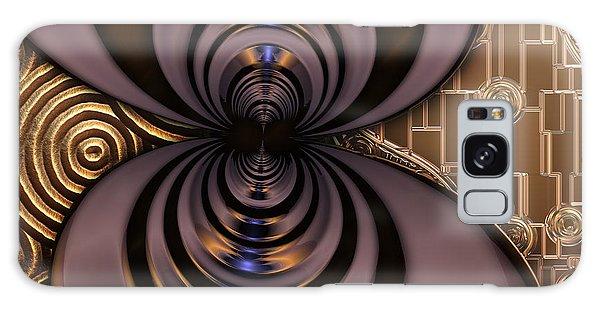 Gilded Fractal 2 Galaxy Case