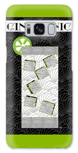 Gin And Tonic Cocktail Art Deco Swing   Galaxy Case