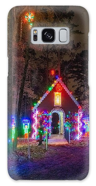 Ginger Bread House Galaxy Case