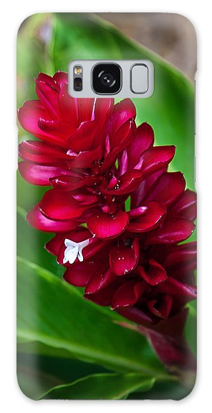 Ginger Flower Galaxy Case