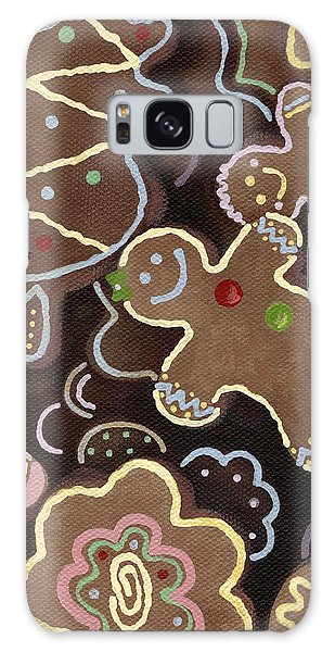 Gingerbread Cookies Galaxy Case