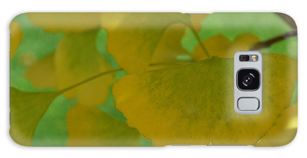 Ginkgo Leaves Abstract Galaxy Case
