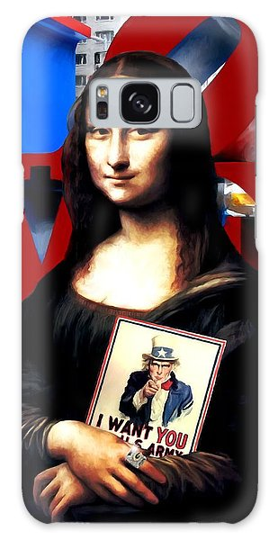 Gioconda Travelling - Usa Galaxy Case