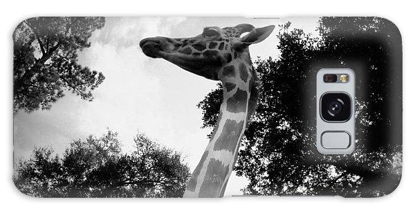 Giraffe Bw - Global Wildlife Center Galaxy Case