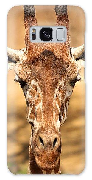 Giraffe Galaxy Case by Elizabeth Budd