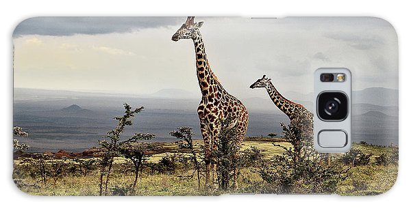 Tall Galaxy Case - Giraffe by Giuseppe D\\\amico