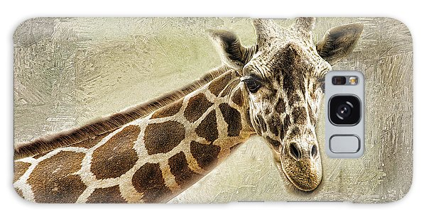 Giraffe Galaxy Case by Linda Blair