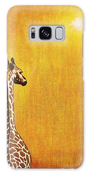 Giraffe Looking Back Galaxy S8 Case