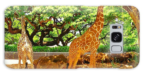 Giraffes Galaxy Case