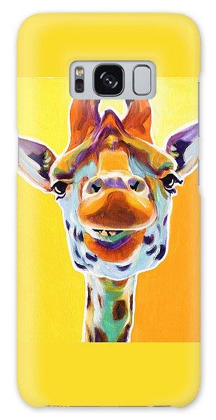 Giraffe - Sunflower Galaxy Case