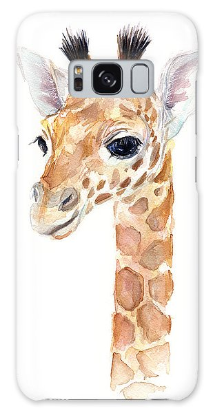 Giraffe Watercolor Galaxy S8 Case