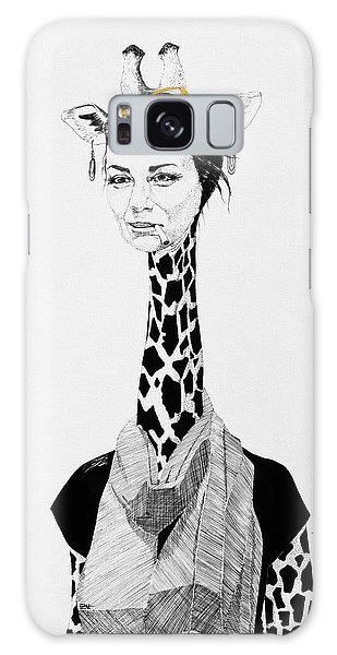 Galaxy Case - Giraffe by Zuzana Vass