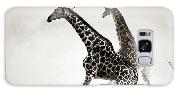 Giraffes Fleeing Galaxy S8 Case