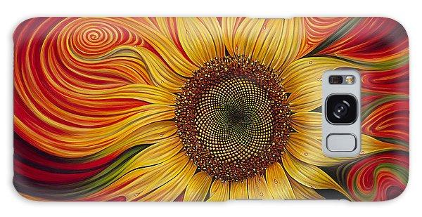 Bright Sun Galaxy Case - Girasol Dinamico by Ricardo Chavez-Mendez