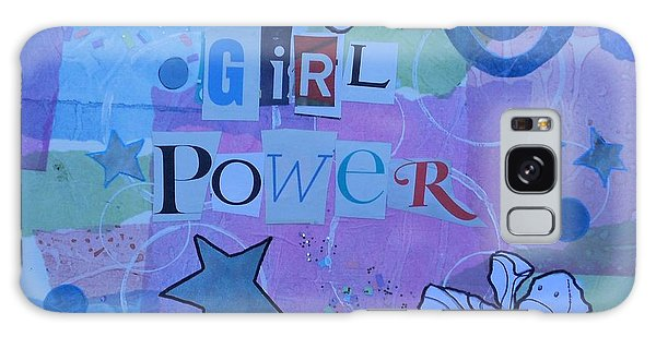 Girl Power Galaxy Case