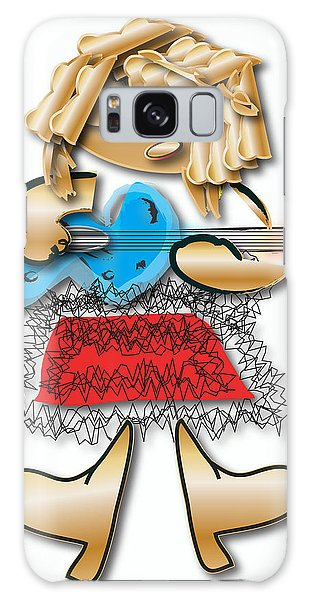 Girl Rocker 6 String Guitar Galaxy Case by Marvin Blaine