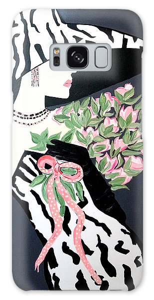 Girl That Loves Pink  Art Deco Galaxy Case