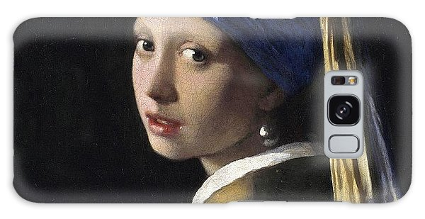 Girl With A Pearl Earring Galaxy Case - Girl With A Pearl Earring Baroque Art by Masterpieces Of Art Gallery