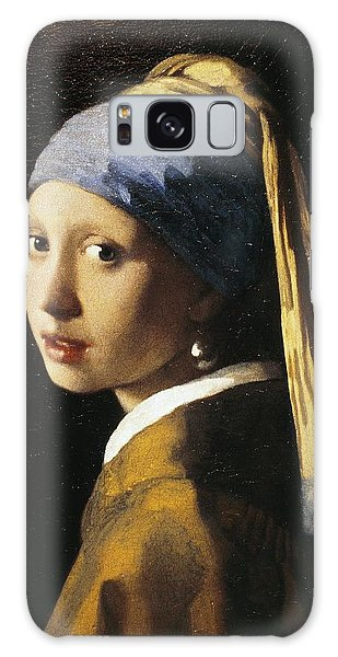 Earring Galaxy Case - Girl With A Pearl Earring, C.1665 Oil On Canvas by Jan Vermeer