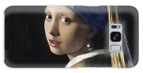 Girl With A Pearl Earring Galaxy Case - Girl With A Pearl Earring  by Johannes Vermeer