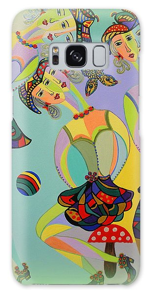 Girls Fantasy Galaxy Case by Marie Schwarzer