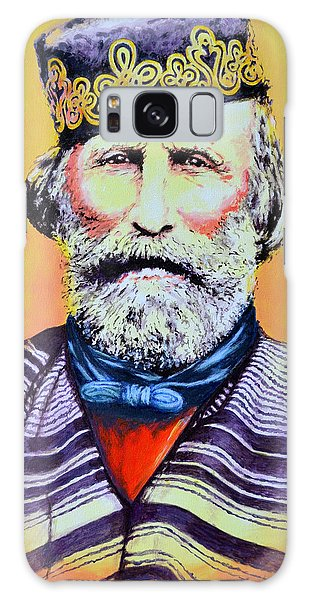 Giuseppe Garibaldi Galaxy Case by Victor Minca