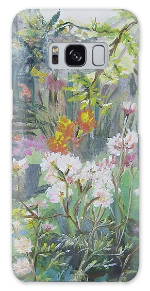 Giverny In Autumn Galaxy Case