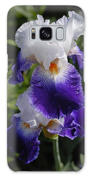 Giverny Iris Galaxy Case