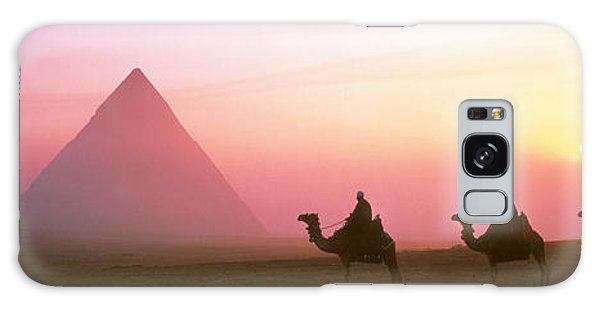 Giza Pyramids Egypt Galaxy Case by Panoramic Images
