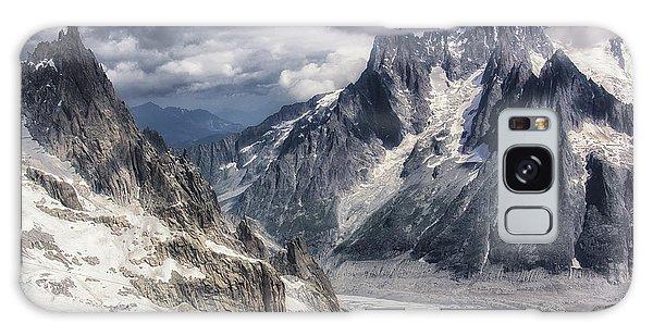 Glacial Peaks Galaxy Case by Wade Aiken