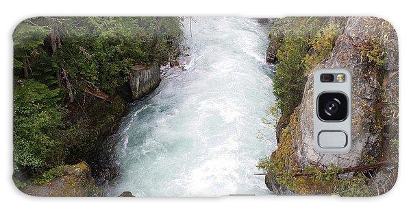 Glacial River - Whistler Galaxy Case by Amanda Holmes Tzafrir