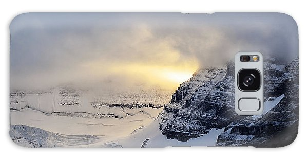 Glacier Above Lake Louise Alberta Canada Galaxy Case