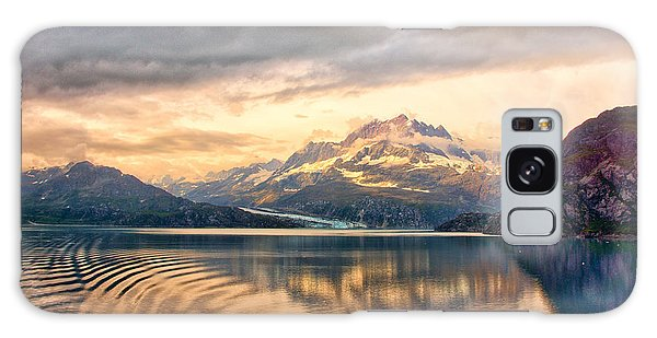 Glacier Bay Reflections Galaxy Case by Janis Knight