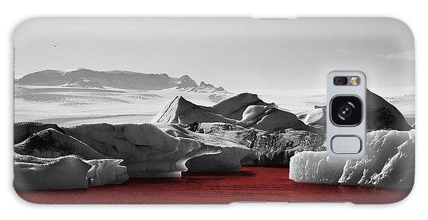 Glacier Blood Galaxy Case
