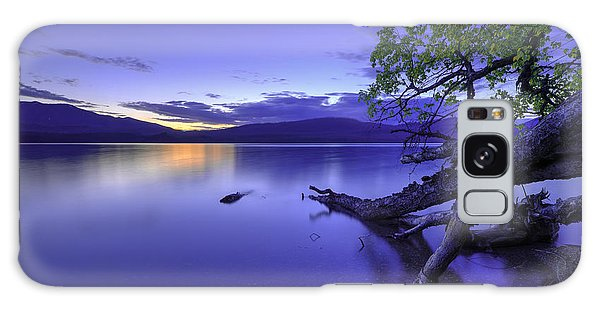 Montana Galaxy Case - Glacier Blue by Chad Dutson