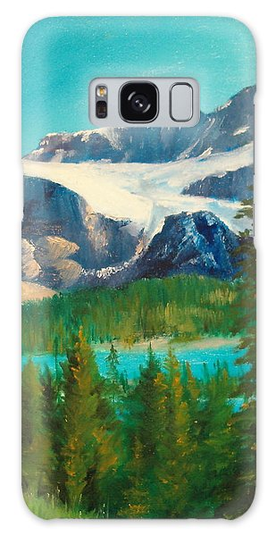 Glacier Galaxy Case by Ellen Canfield