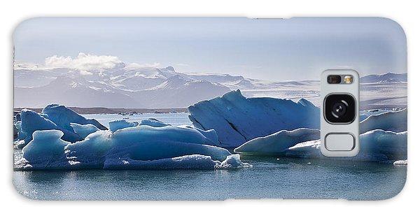 Glacier In Iceland Galaxy Case