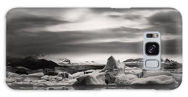 Glacier Lagoon Galaxy Case