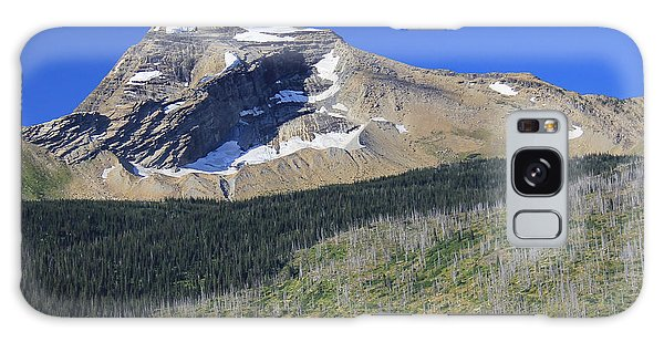 Glacier National Pk Mt Galaxy Case by Kathleen Scanlan
