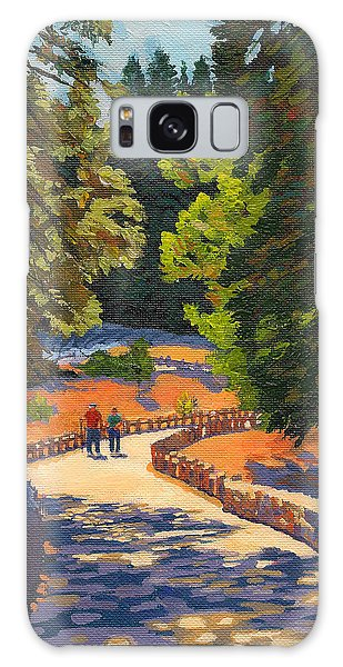 Glacier Point Walk Galaxy Case by Alice Leggett
