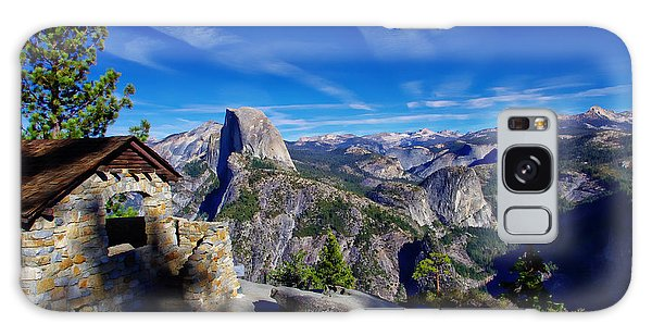 Glacier Point Yosemite National Park Galaxy Case