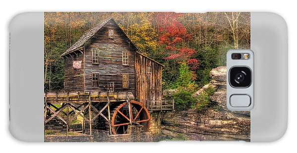 Glade Creek Grist Mill-1a Babcock State Park Wv Autumn Late Afternoon Galaxy Case