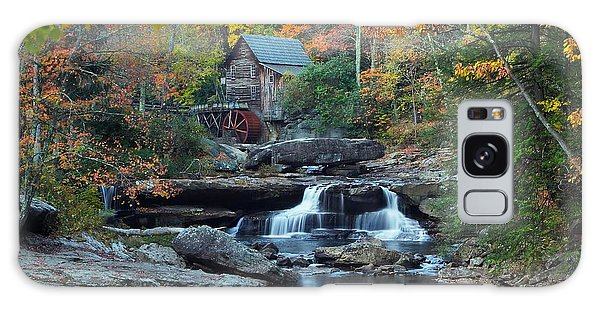 Glade Creek Grist Mill Galaxy Case by Daniel Behm