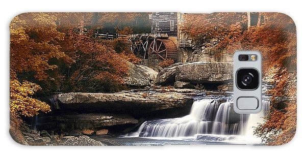Glade Creek Mill In Autumn Galaxy Case